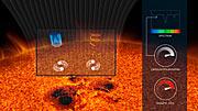 Explicación de como el campo magnético de una estrella afecta la luz emitida