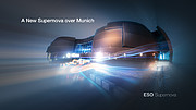 Trailer des ESO Supernova Planetariums & Besucherzentrums