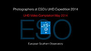 Photographers at ESO's UHD Expedition 2014