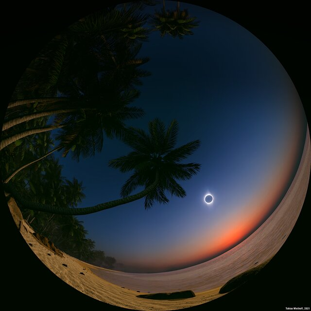 Didactic sequence - Solar eclipse landscape
