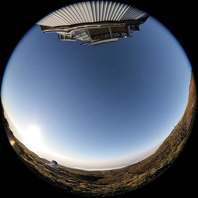 Nighttime fulldome timelapse from the Observatorio del Roque de los Muchachos