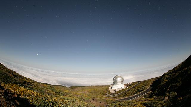 Gran Telescopio Canarias time-lapse