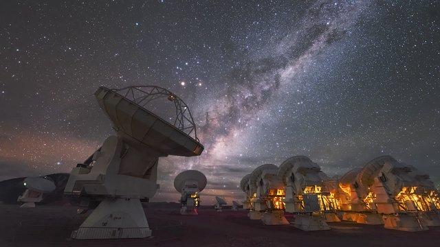 ALMA under the stars