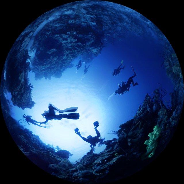 Scuba diving in Belize