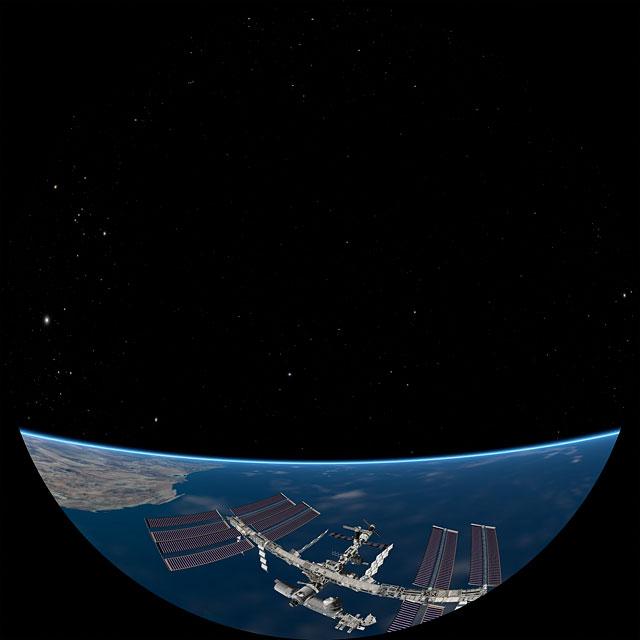La grandiosidad de la ISS