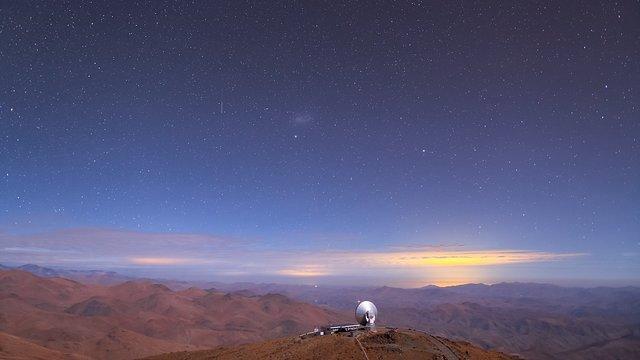La Silla SEST time-lapse