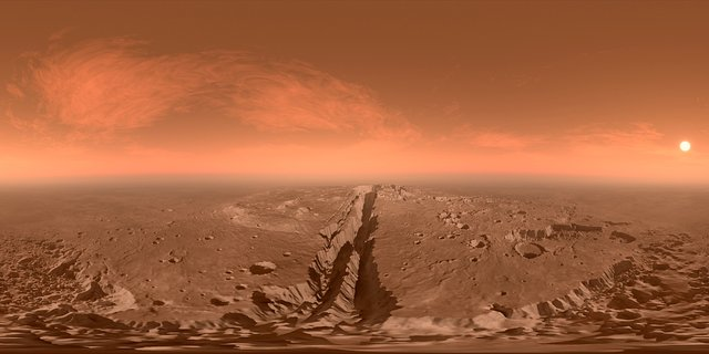 Mars: The Red Planet Virtual Reality