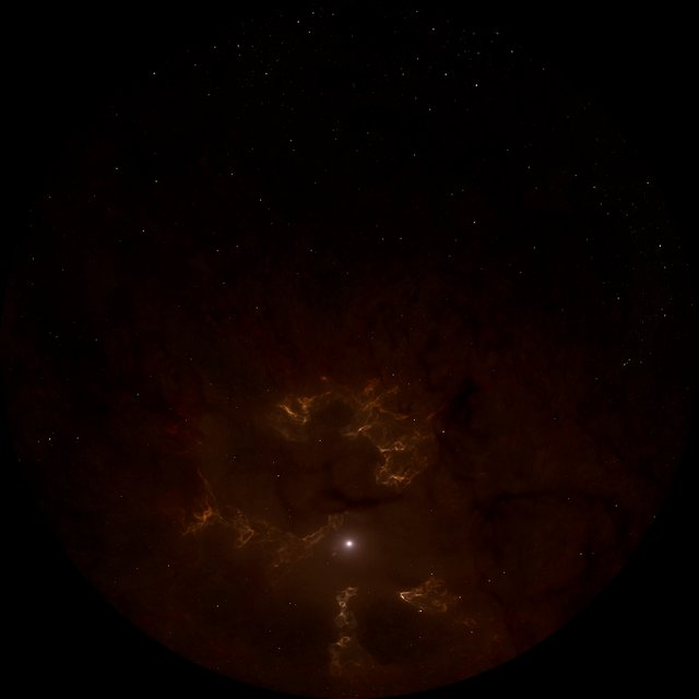 Supernova explosion 1