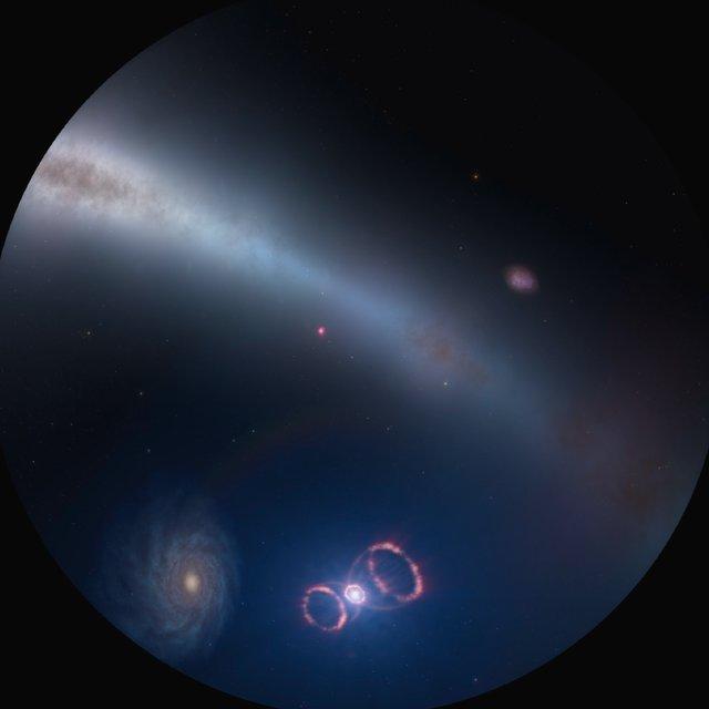 SN 1987A (fulldome)