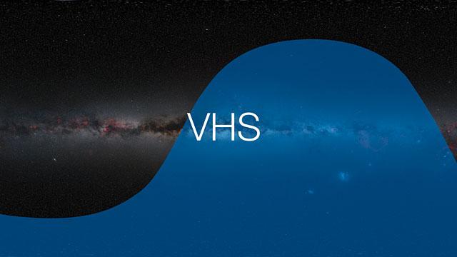 Cobertura del cielo del VST y VISTA