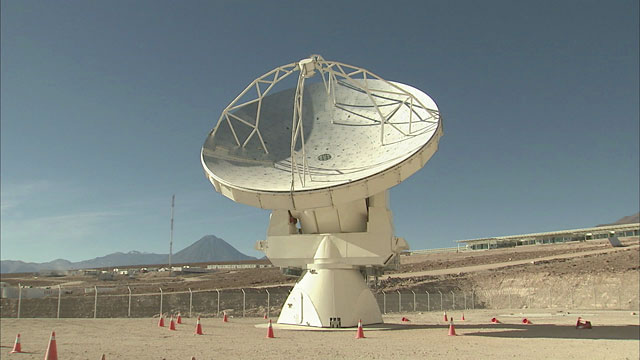ALMA North American antenna — 2