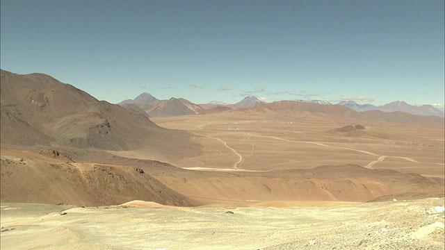 Chajnantor  plateau  — 1