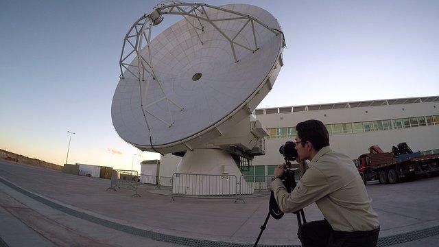 Astrophotographer at ALMA