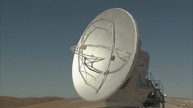 An ALMA antenna