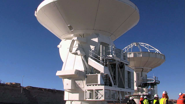 European ALMA antenna brings total on Chajnantor to 16