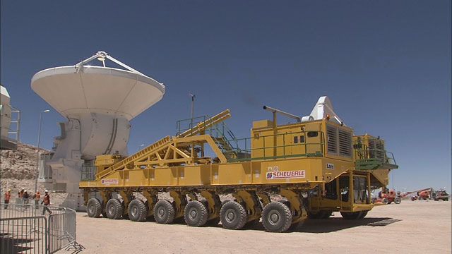 Relocation of an ALMA AEM antenna to the OSF (part 25)
