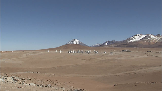 The ALMA array at the Chajnantor plane (part 2)