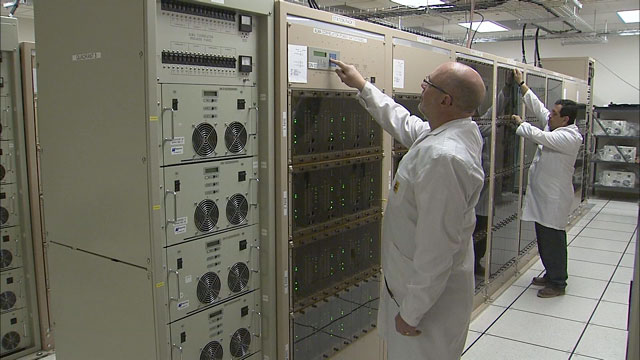 The ALMA correlator at the AOS Technical Building (part 1)