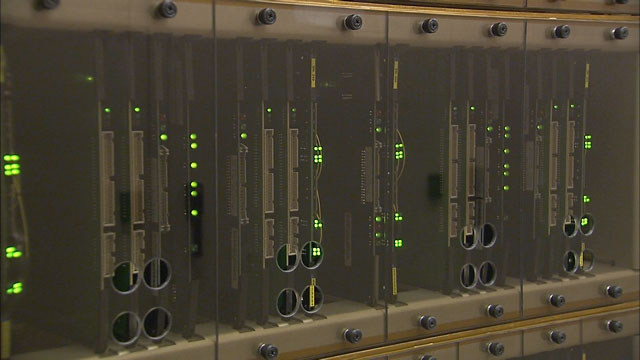The ALMA correlator at the AOS Technical Building (part 4)