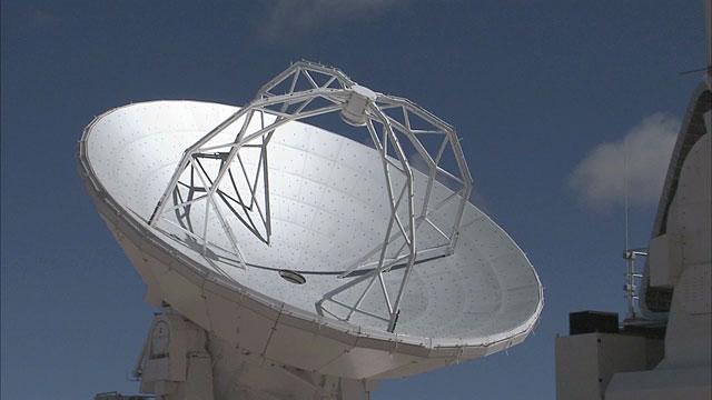 ALMA antennas at Chajnantor