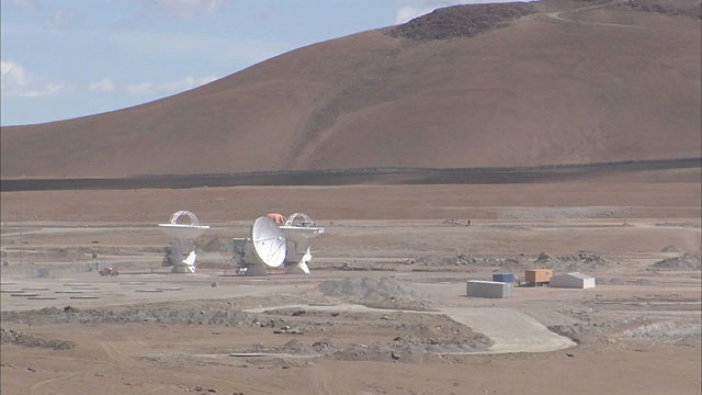 ALMA at the Chajnantor Plane