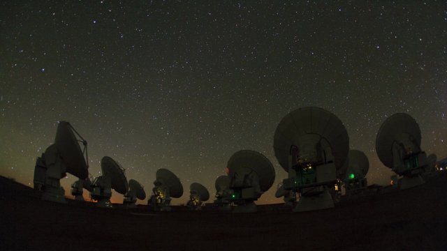 ALMA time-lapse 2011 (part 1)