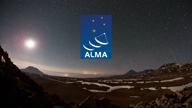 The movie ALMA — In Search of our Cosmic Origins  (German)
