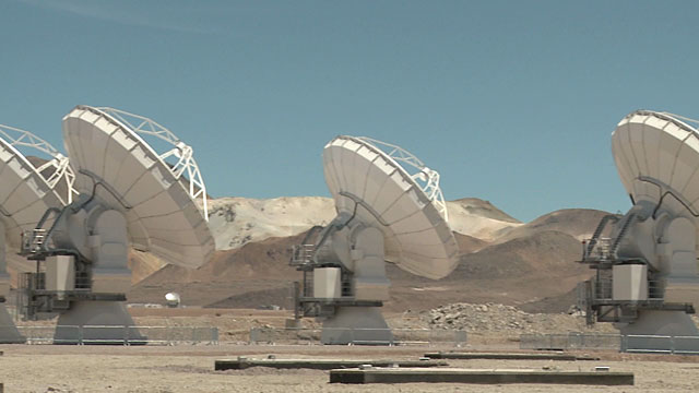 Moving ALMA antennas