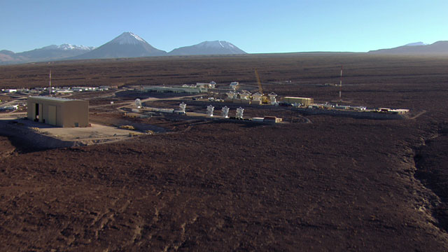 Aerial view of the ALMA OSF - 2