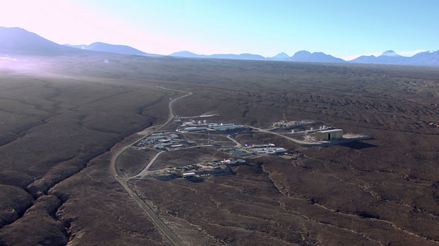 Aerial view of the ALMA OSF - 3