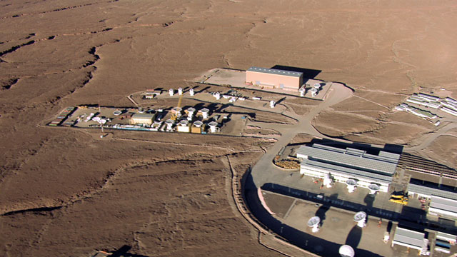 Aerial view of the ALMA OSF - 4