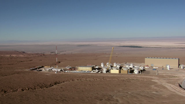 Aerial view of the ALMA OSF - 5