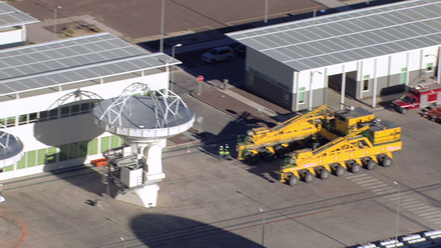 Aerial view of the ALMA OSF - 6