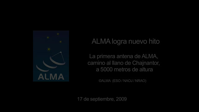 ALMA telescope reaches new heights