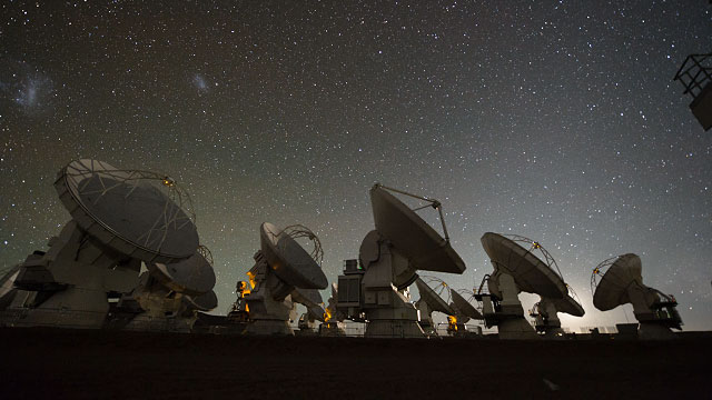 The ALMA time-lapse compilation 2012