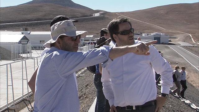 Österreichischer und Portugiesischer Wissenschaftsminister besuchen das Paranal-Observatorium der ESO