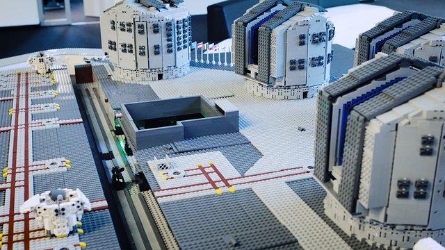 Tour completo dell'Osservatorio del Paranal dell'ESO in miniatura