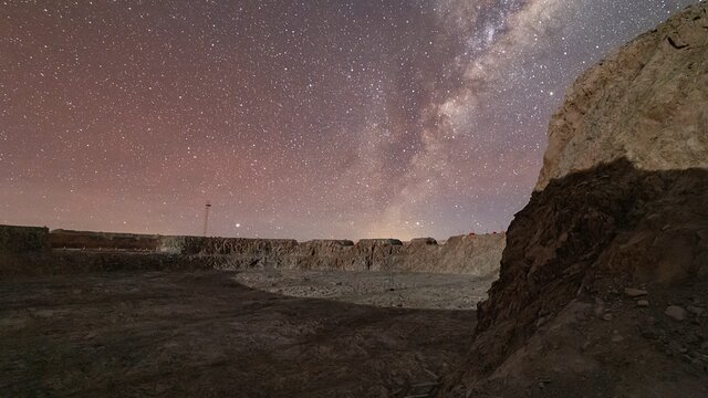 Milky Way over Cerro Armazones