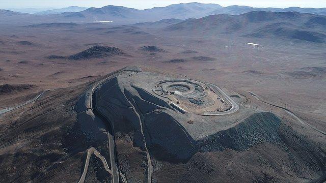 Cerro Armazones drone footage