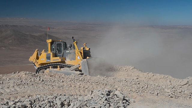 Flattening the Cerro Armazones