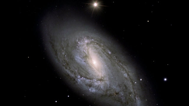 The spiral galaxy Messier 66