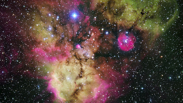 The stellar cluster NGC 2467