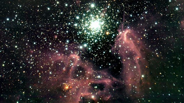 The emission nebula NGC 3603