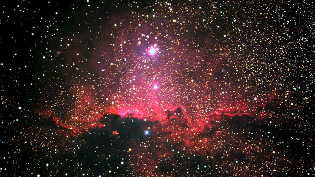The emission nebula NGC 6188