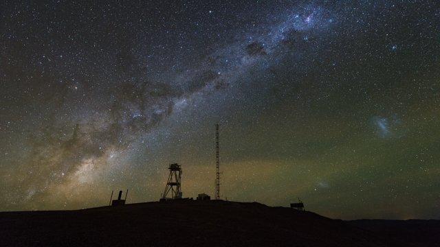 Cerro Armazones time-lapse