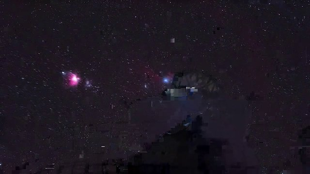 Orion over Paranal