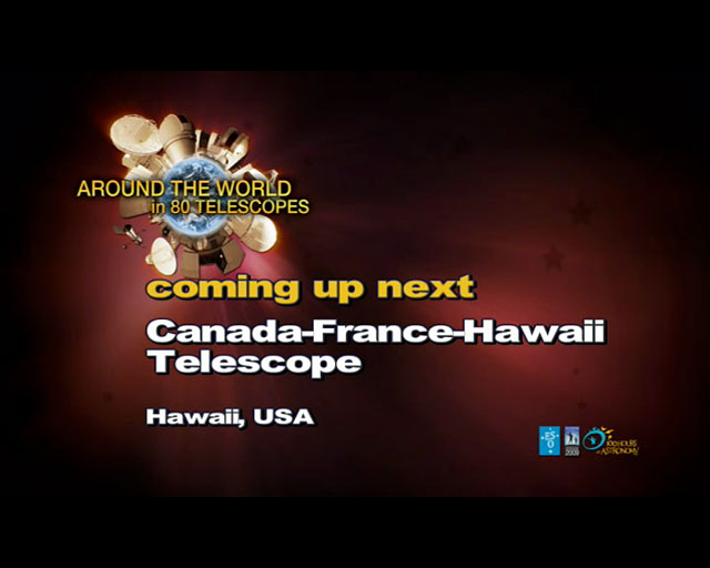 Canada-France-Hawaii Telescope (AW80T webcast)