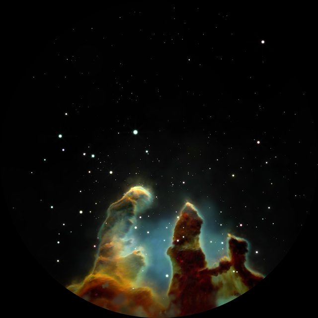 Visiting the Eagle Nebula (fulldome)