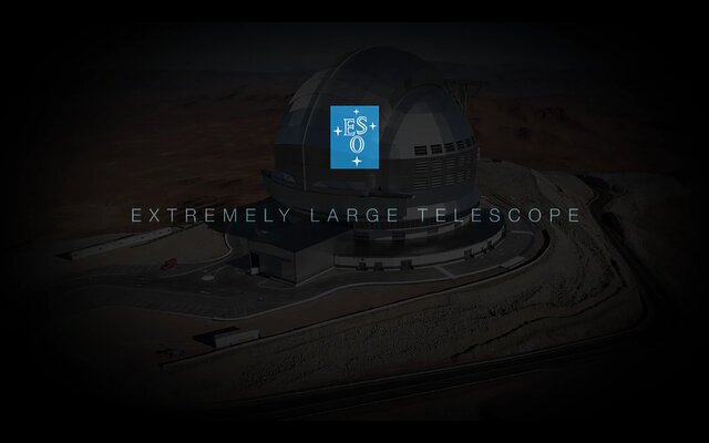 ESO's Extremely Large Telescope teaser