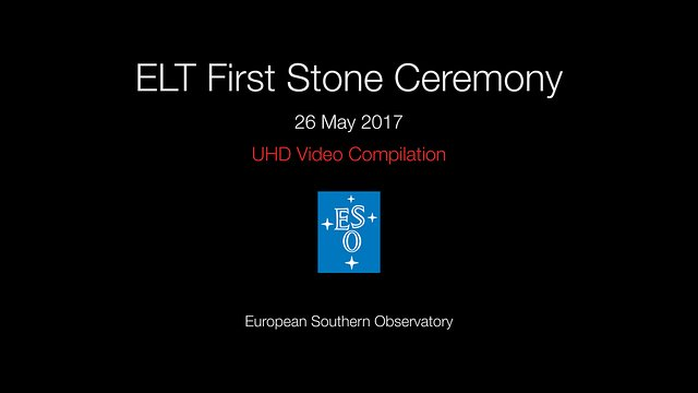 ELT's first stone ceremony video compilation